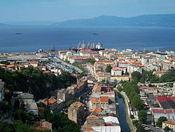 View on Rijeka